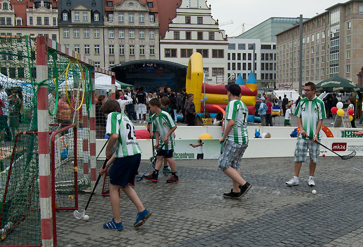 Lange Nacht des Sports 2011 in Leipzig