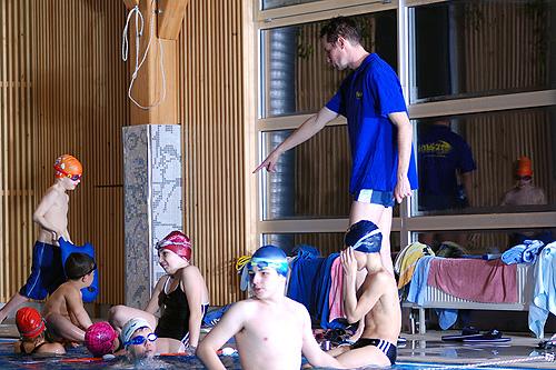 Sport und Bildung – Schwimmen lernen