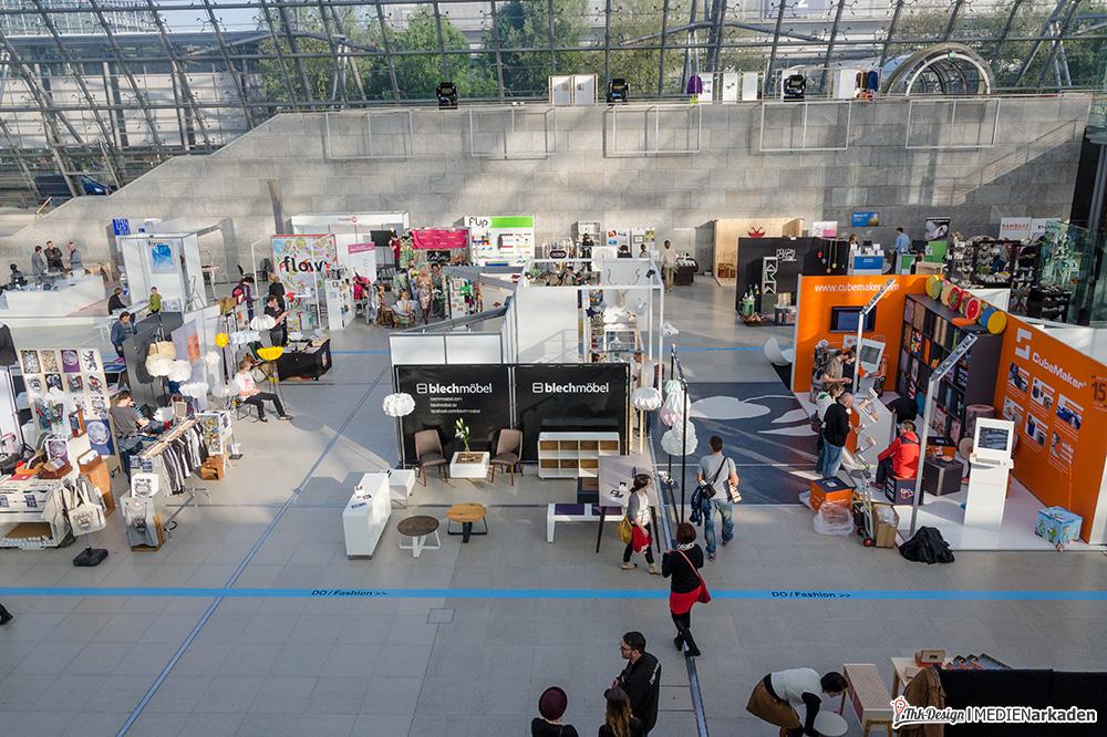 Designers Open - Auf der Balustrade