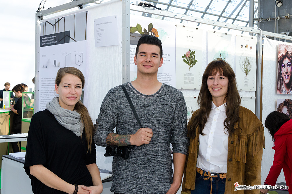 Das Messe-Team der Design Hochschule Anhalt