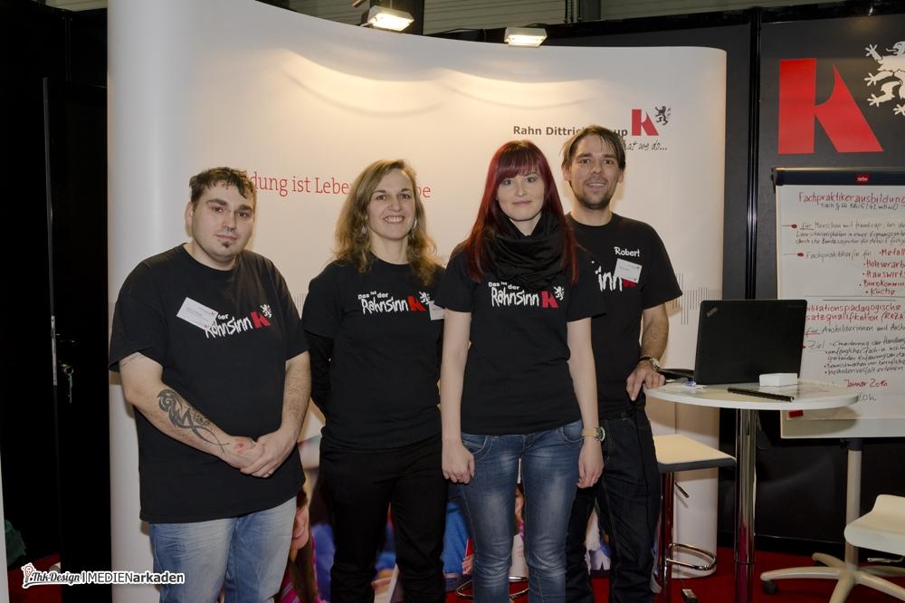 Das Team der Wirtschaftsakademie aus Halle