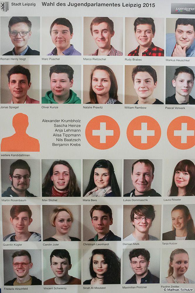 31 Kandidaten aus und für Leipzig, alle zwischen 14 und 21 Jahre alt