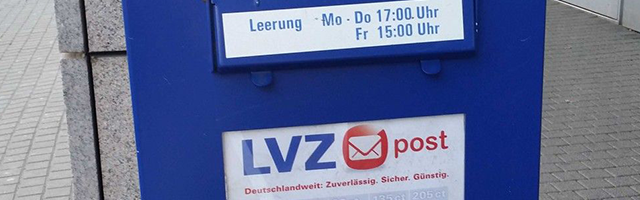 LVZ Post, die regionale Alternative zur Deutschen Post