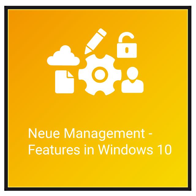 Windows 10 = Management