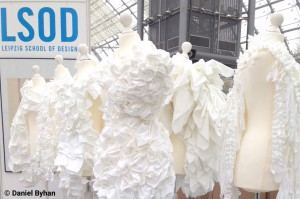 Die Leipzig School of Design präsentierte kreative Mode