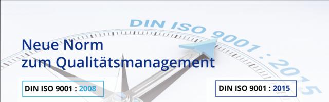 Die neue ISO 9001: 2015