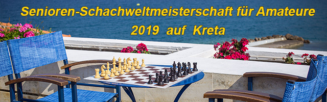 Senioren-Schachweltmeisterschaft für Amateure 2019 auf Kreta