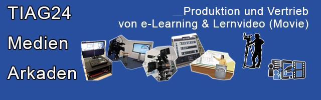 Produktion und Vertrieb von e-Learning & Lernvideo (Movie) als Bestandteil im Blended Learning (Hybrid Learning-Angebote, d.h. Mix aus Präsenzunterricht – e-Learning – Lernvideo)